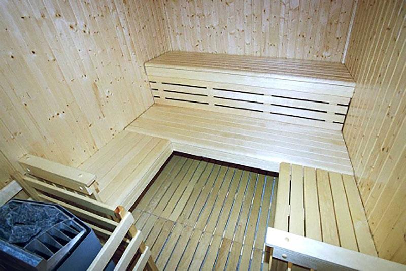 Domaine d'Hypolite, Sauna