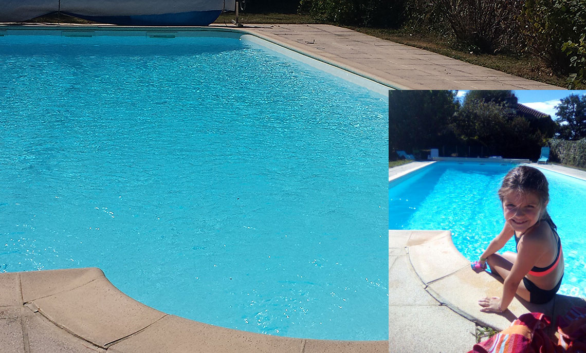 Domaine d'Hypolite : la piscine